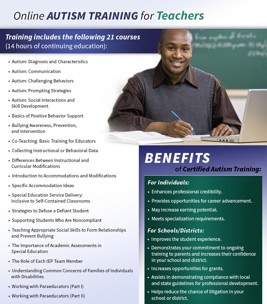 Autism Certification: Online Teacher Training
