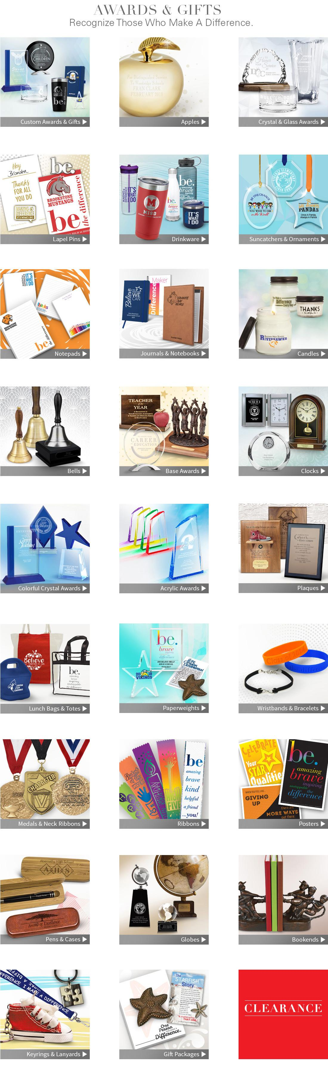 Shop Award and Gift Items