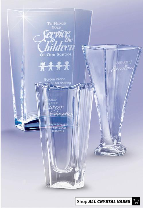Crystal Vase Awards and Gifts