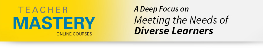 Online Professional Development for Teacher Diverse Learners