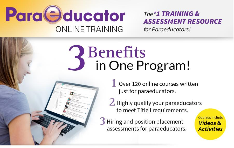 the master teacher: paraeducator online training