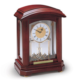 Bulova Nordale Revolving Pendulum Clock Custom Engraved Teacher Awards At Master Mt