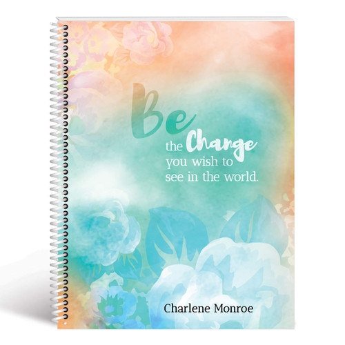 be the change floral lesson planner