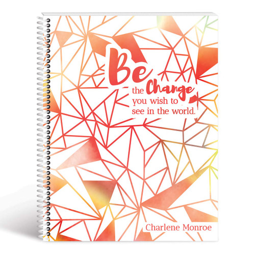 be the change geometric cover red