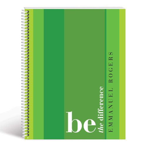 be the difference cover green