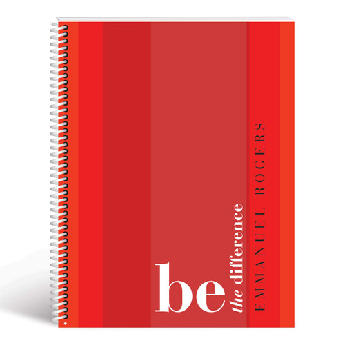 be the difference cover red