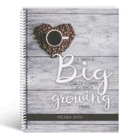 big circles lesson planner cover