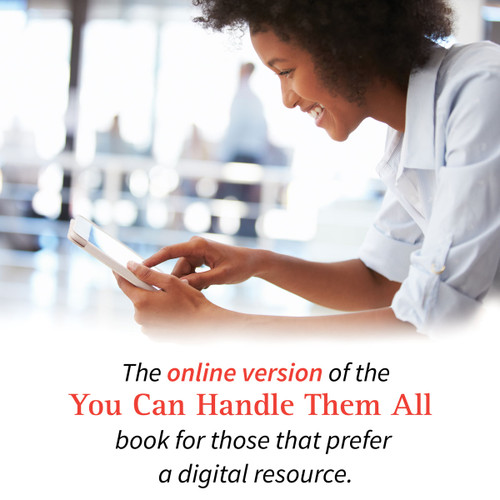 The online version of our You Can Handle Them All book on behavior: disciplinehelp.com