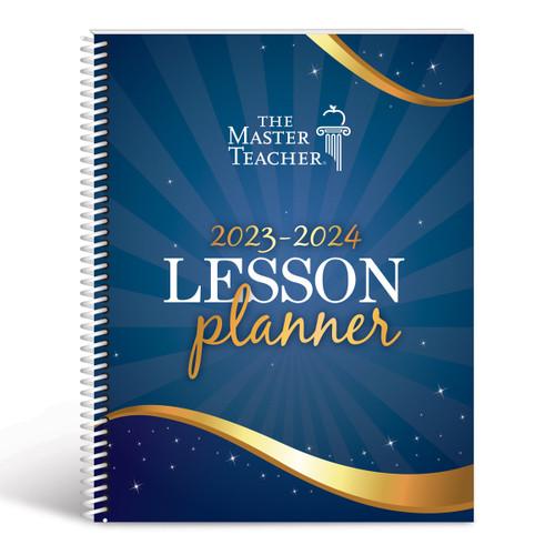 master teacher lesson planner cover