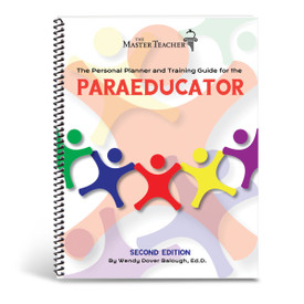 cover of paraeducator training guide