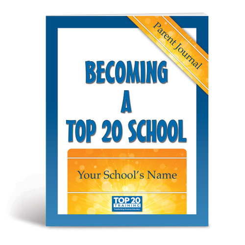 Cover of Becoming a Top 20 School Parent Journal