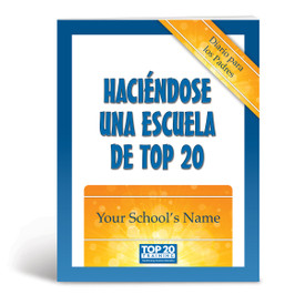 Cover of Becoming a Top 20 Parent Journal in Spanish