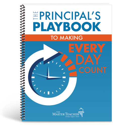 Cover of the principal's playbook to making every day count