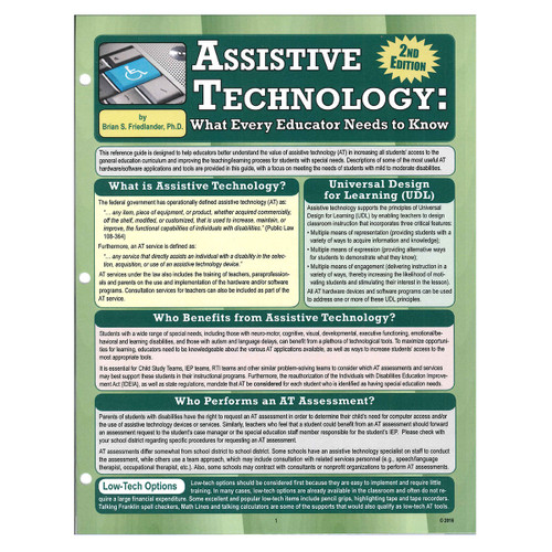 assistive technology reference guide