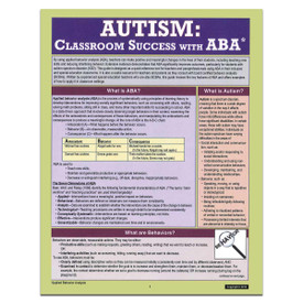 autism applied behavior analysis reference guide