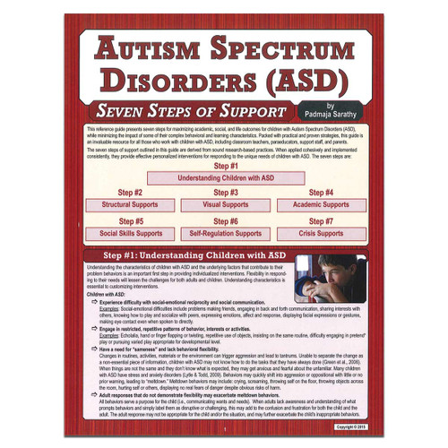 asd seven steps of support reference guide