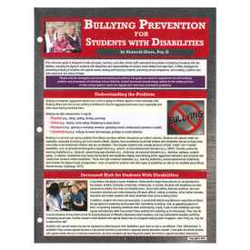 bullying prevention for students with disabilities reference guide