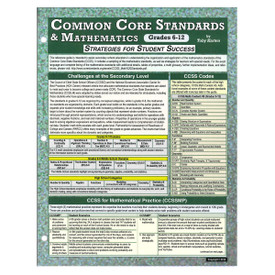 common core standards and math grades 6-12
