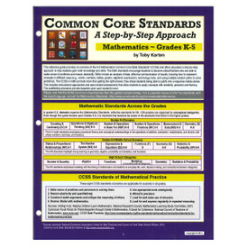 Common Core Standards Math K-5 Reference Guide MT
