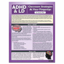 adhd and ld reference guide