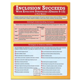inclusion succeeds with effective strategies reference guide