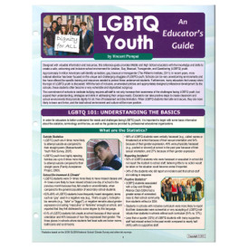 LGBTQ youth: an educator's guide reference guide