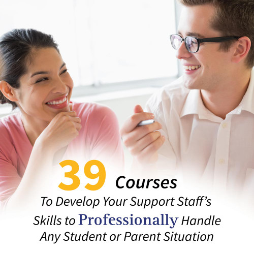 school support staff online courses