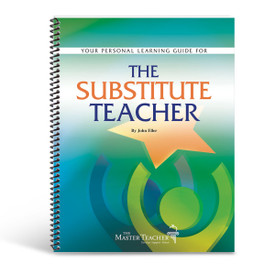 cover of substitute teachers book