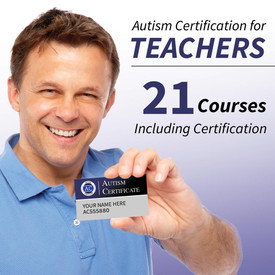 autism certification for teachers: 21 courses including certification