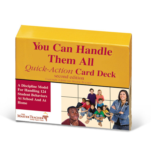 you can handle them all quick action card deck