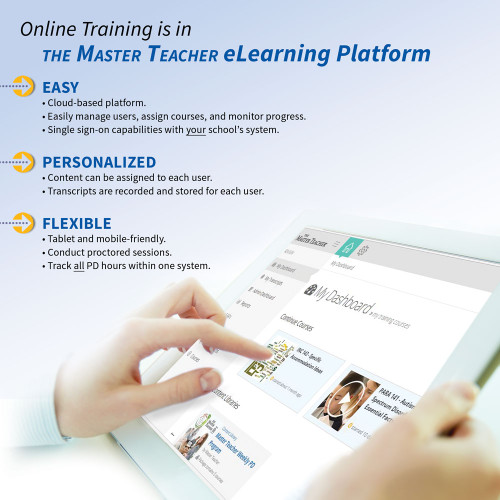 online training is in the master teacher elearning platform