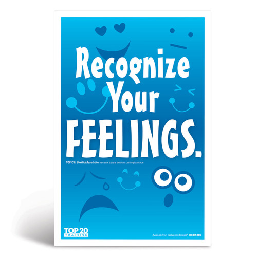 Social-emotional learning poster: Recognize your feelings