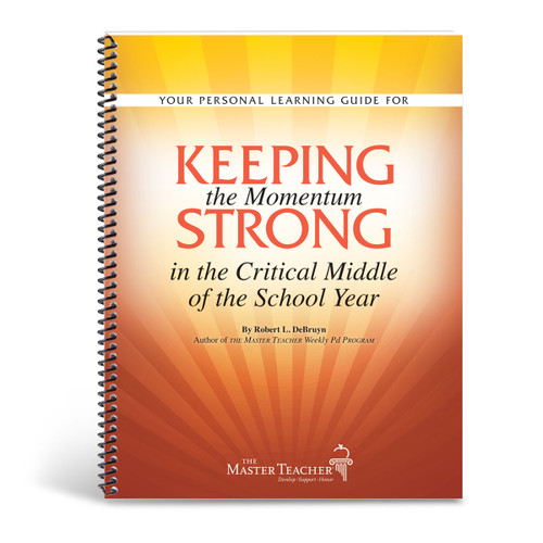 cover of keeping the momentum strong in the critical middle book