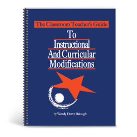cover of teacher's guide to instructional accommodations and modifications