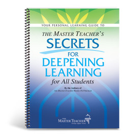 cover of secrets for deepening learning book