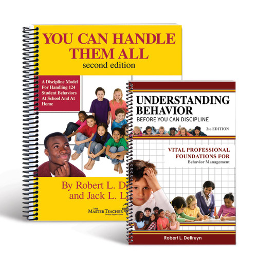 covers of books in student behavior book set