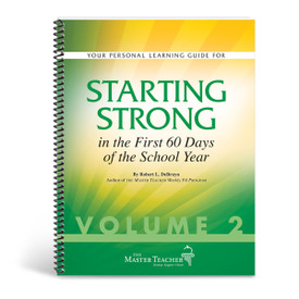 cover of starting strong in the first 60 days book, volume two