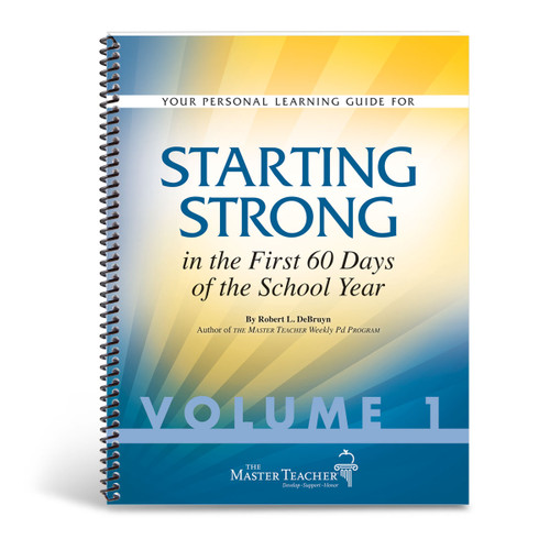cover of starting strong in the first 60 days book, volume one