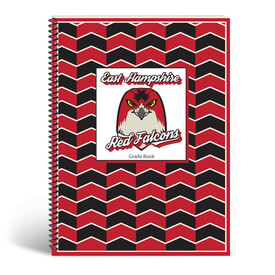 custom grade book cover with school mascot