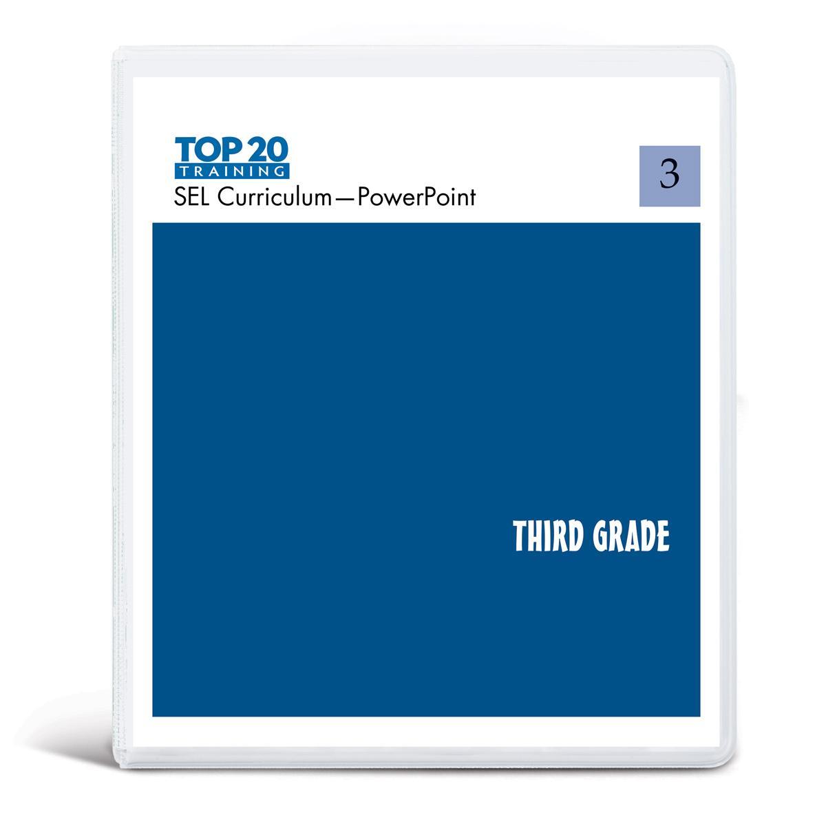 Top 20 teachers PowerPoint curriculum for third grade