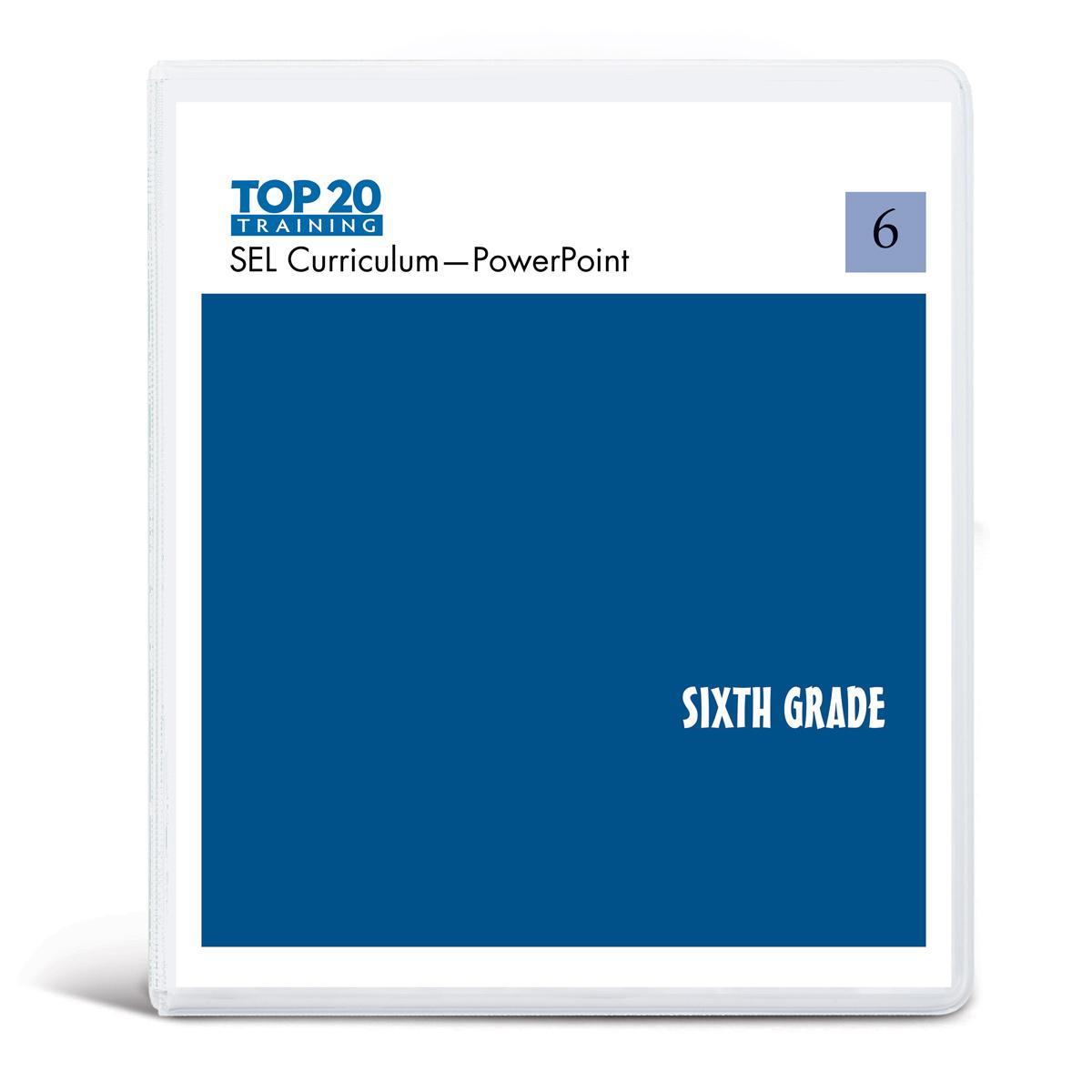 Top 20 teachers PowerPoint curriculum for sixth grade