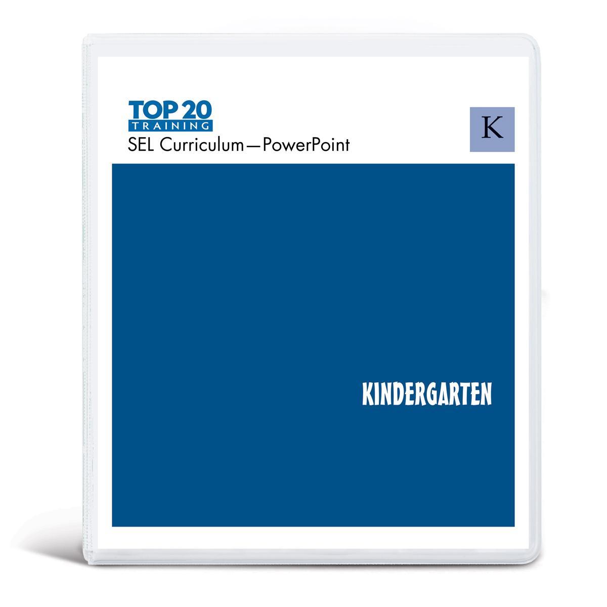 Top 20 teachers PowerPoint curriculum for kindergarten