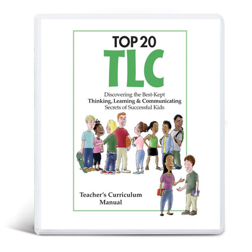 Cover of Top 20 TLC curriculum for grades 3-6
