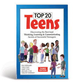 Cover of Top 20 Teens book: Discovering the best-kept thinking, learning, and communicating secrets of successful teenagers