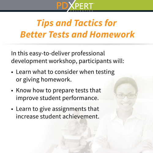 Ready-to-Use Inservice Workshops on Assessment: Tips and Tactics for Better Tests and Homework