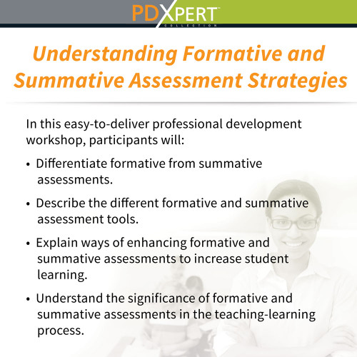 Ready-to-Use Inservice Workshops on Assessment: Understanding Formative and Summative Assessment Strategies