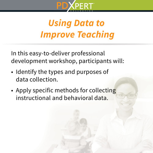 Ready-to-Use Inservice Workshops on Assessment: Using Data to Improve Teaching