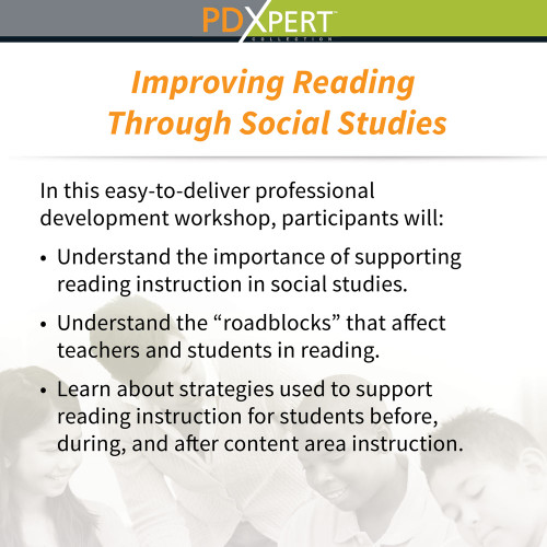 Ready-to-Use Inservice Workshops on Content-Area Instruction: Improving Reading Through Social Studies