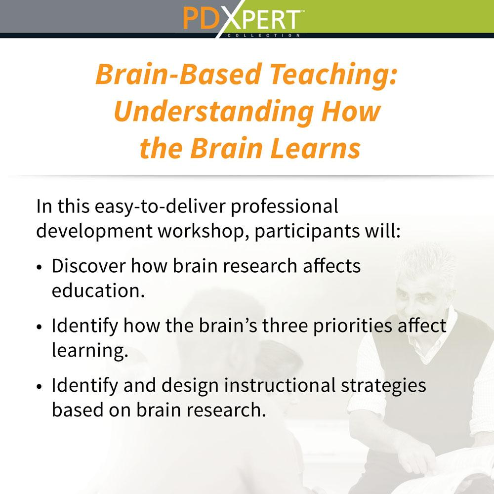 Ready-to-Use Inservice Workshops on Instructional Strategies: Brain-Based Teaching: Understanding How the Brain Learns