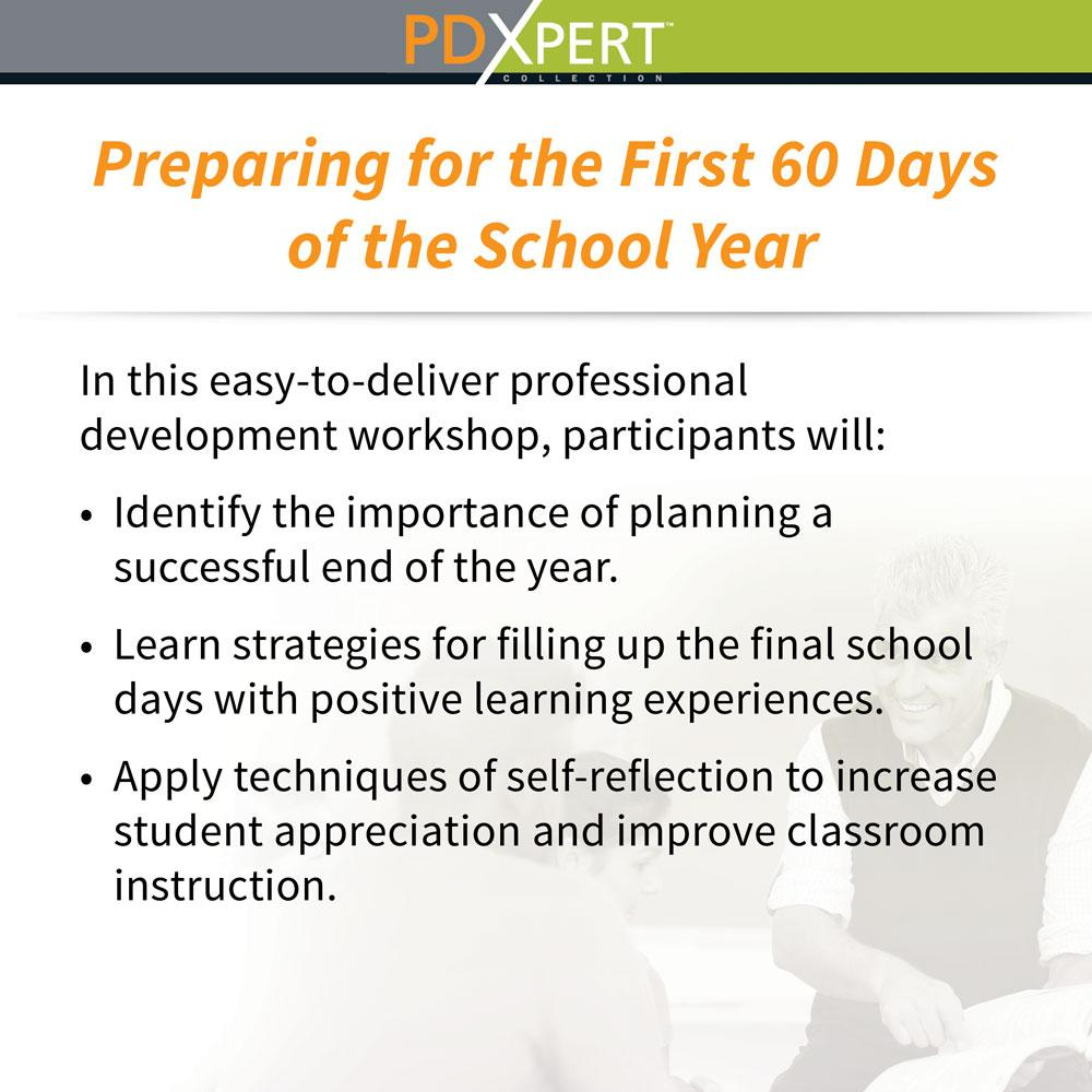 Ready-to-Use Inservice Workshops on Instructional Strategies: Preparing for the First 60 Days of the School Year
